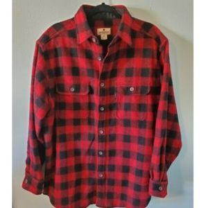 Woolrich Men's Buffalo Plaid Wool Blend Shirt